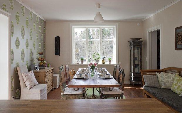 Фотография: Кухня и столовая в стиле Прованс и Кантри, Лофт, Эклектика, Декор интерьера, Швеция, Декор дома, Советы, Шебби-шик – фото на INMYROOM