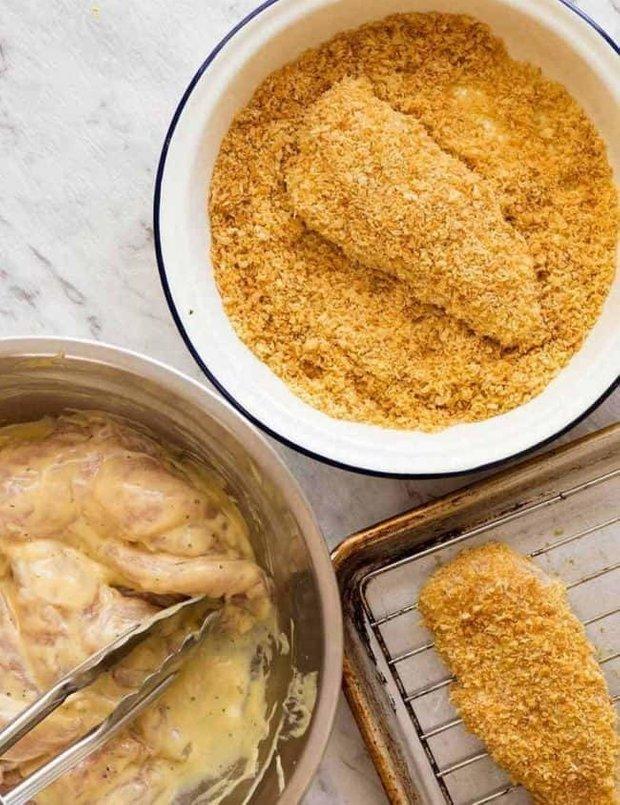 Фотография:  в стиле , Закуска, Закуски, Кулинарные рецепты, 30 минут, Американская кухня, Просто, Курица, Запекание – фото на INMYROOM