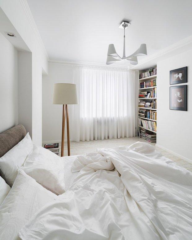 Фотография: Спальня в стиле Скандинавский, Декор интерьера, Декор дома, Картины – фото на INMYROOM