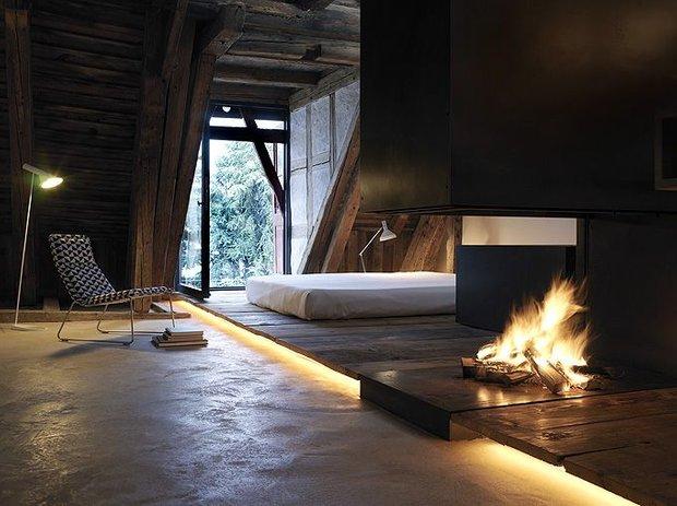 Фотография: Спальня в стиле Эко, Декор интерьера, Декор, Мебель и свет, освещение – фото на INMYROOM
