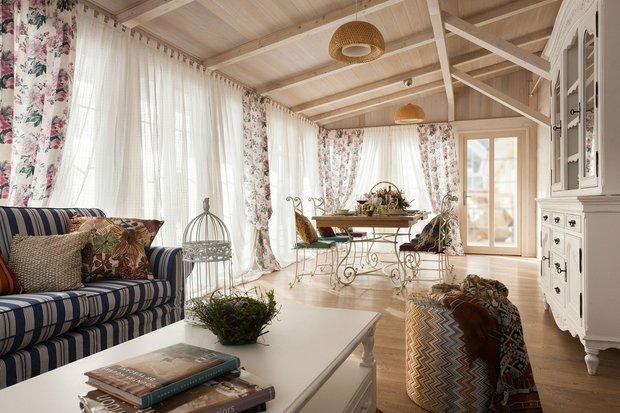 Фотография: Кухня и столовая в стиле Прованс и Кантри, Дача, Гид, Технониколь – фото на INMYROOM
