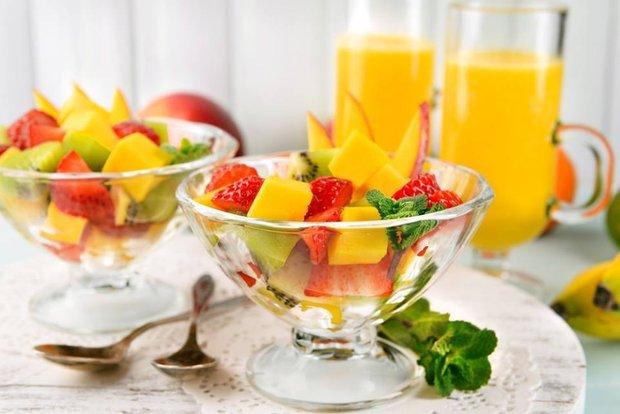 Фотография:  в стиле , Советы, Обзоры, Салат, фрукты – фото на INMYROOM