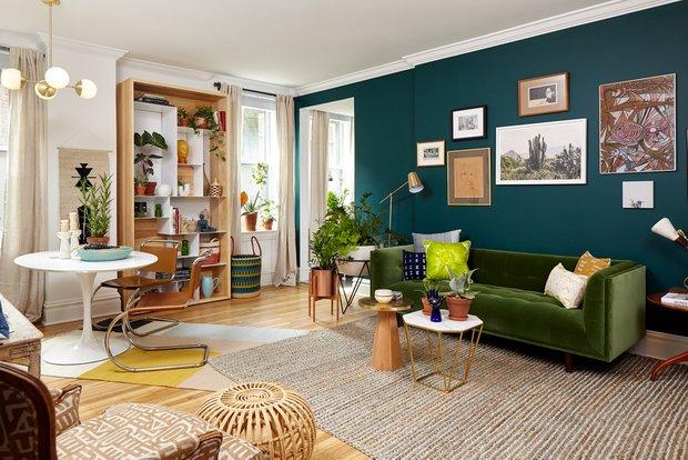 Фотография: Гостиная в стиле Эклектика, Квартира, Советы, Geberit – фото на INMYROOM