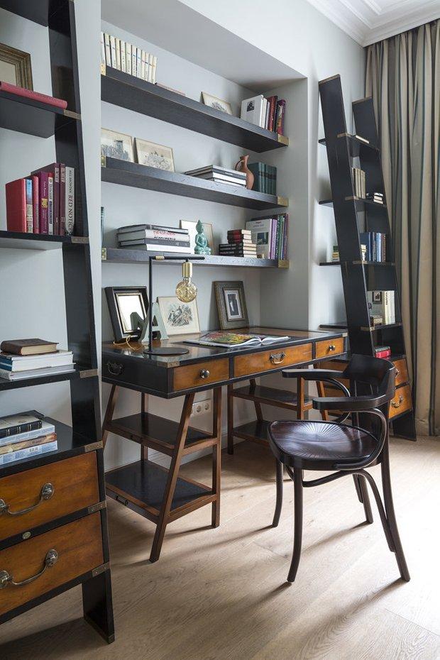 Фотография: Кабинет в стиле Современный, Декор интерьера, Советы, актуальный интерьер – фото на INMYROOM
