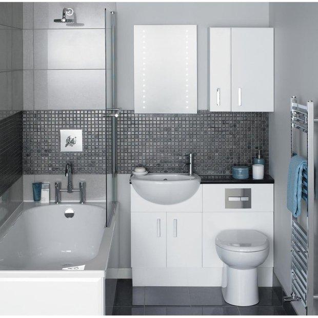 Фотография: Ванная в стиле Современный, Хай-тек, Интерьер комнат – фото на INMYROOM