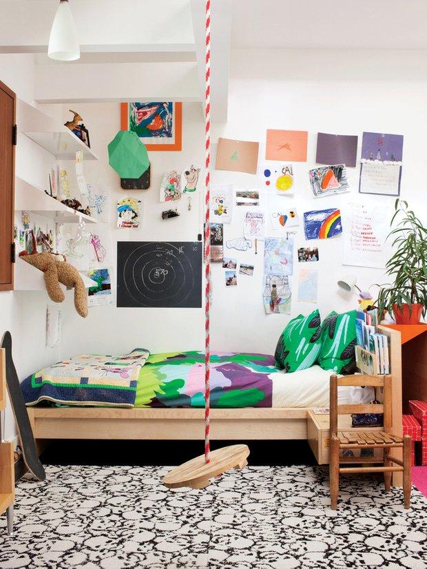 Фотография: Детская в стиле Скандинавский, Современный, Эклектика, Декор интерьера, Интерьер комнат – фото на INMYROOM