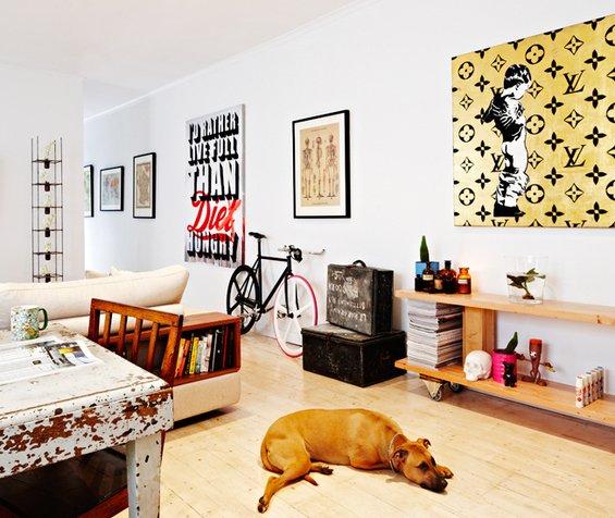Фотография: Гостиная в стиле Прованс и Кантри, Декор интерьера, Дом, Дома и квартиры, Винтаж – фото на INMYROOM