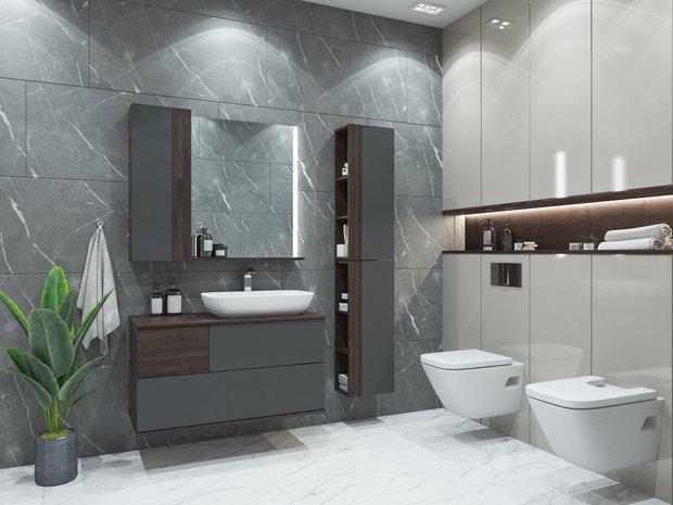 Фотография: Ванная в стиле Современный, Минимализм, Декор интерьера, Aquaton – фото на INMYROOM