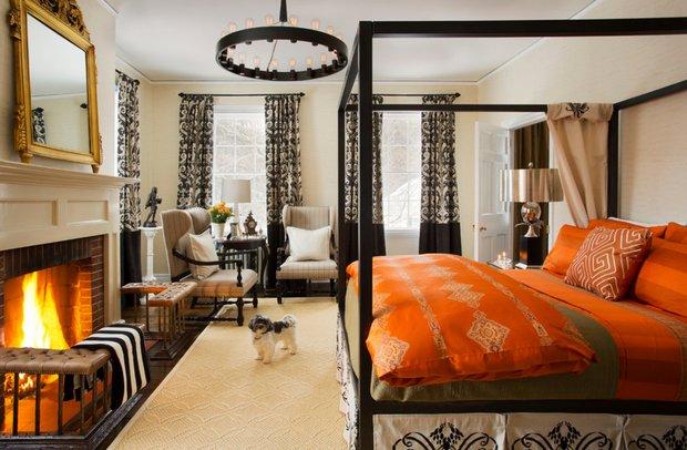 Фотография: Спальня в стиле Восточный, Дом, Дома и квартиры, Интерьеры звезд – фото на INMYROOM