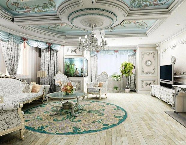 Фотография: Гостиная в стиле , Декор интерьера, Comptoir de Famille, Country Corner, Мебель и свет, Стол, Интерьерная Лавка, Журнальный столик – фото на INMYROOM