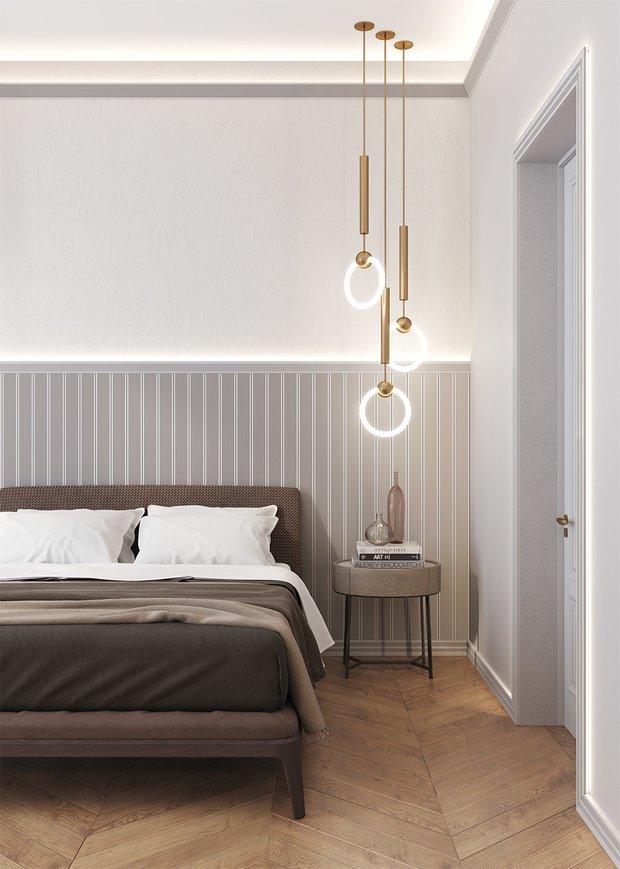 Дизайн: Мила Миянович и Нелли Степанова, студия NM+interiors. Молдинги — «Европласт»