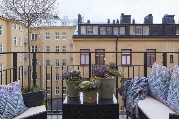 Фотография: Балкон в стиле Современный, Классический, Декор интерьера, Квартира, 4 и больше, Более 90 метров – фото на INMYROOM