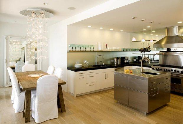 Фотография: Кухня и столовая в стиле Эклектика, Интерьер комнат, Советы – фото на INMYROOM