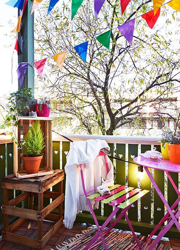 Фотография: Балкон, Терраса в стиле , Скандинавский, Малогабаритная квартира, Квартира, Дома и квартиры – фото на INMYROOM