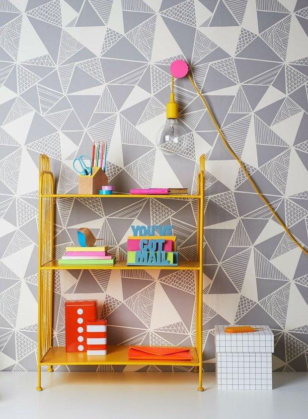 Фотография: Мебель и свет в стиле , Детская, Декор интерьера, Интерьер комнат, Обои – фото на INMYROOM