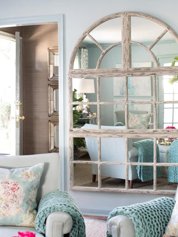 Фотография: Декор в стиле Прованс и Кантри, Малогабаритная квартира, Интерьер комнат, Советы, Зеркала – фото на INMYROOM