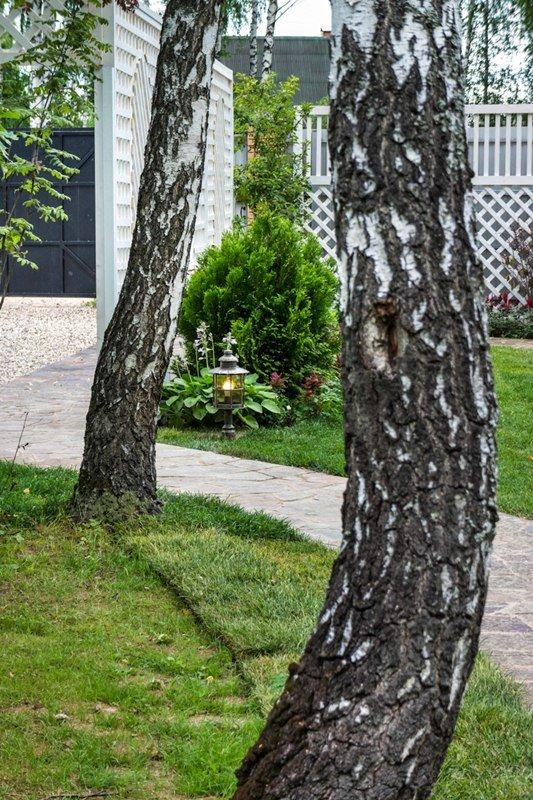 Фотография: Ландшафт в стиле Современный, Дачный ответ, Беседка – фото на INMYROOM