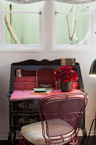 Фотография:  в стиле , Декор интерьера, Дом, Дома и квартиры, Интерьеры звезд, Ретро – фото на InMyRoom.ru