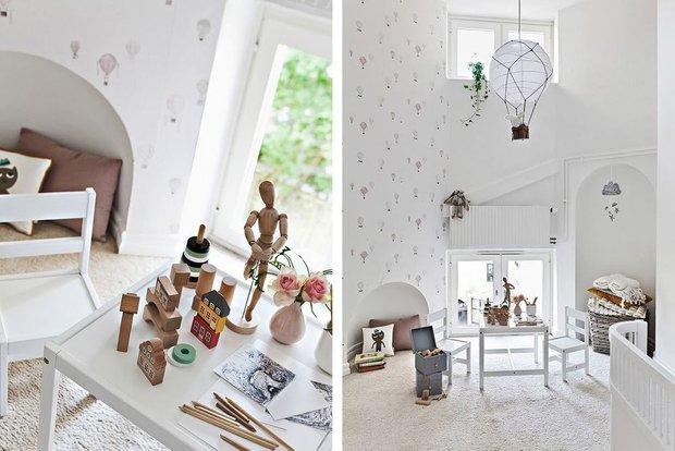 Фотография:  в стиле , Скандинавский, Декор интерьера, Квартира, Швеция, Мебель и свет, скандинавский интерьер, освещение в квартире, как выбрать освещение для комнаты, 3 комнаты, Более 90 метров – фото на INMYROOM