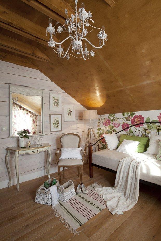 Фотография: Спальня в стиле Прованс и Кантри, Дом, Проект недели, Татьяна Морозова – фото на INMYROOM