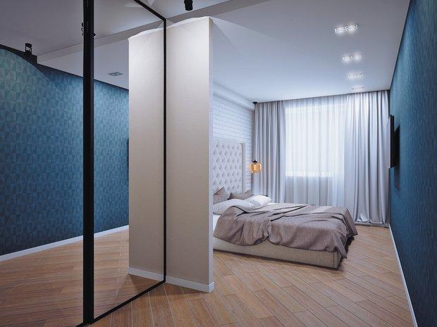 Фотография: Спальня в стиле Современный, Классический, Квартира, Планировки, Мебель и свет, Проект недели – фото на INMYROOM