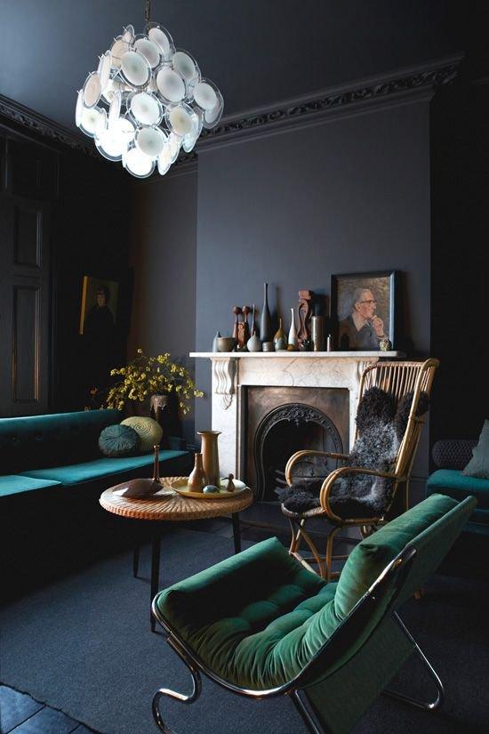 Фотография: Гостиная в стиле Классический, Декор интерьера, Дизайн интерьера, Цвет в интерьере – фото на INMYROOM