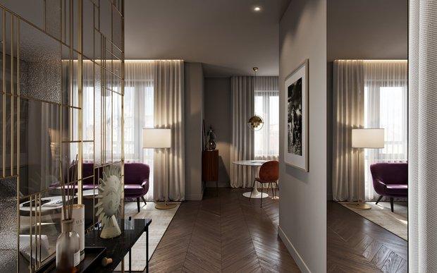 Фотография: Прихожая в стиле Современный, Малогабаритная квартира, Гид – фото на InMyRoom.ru