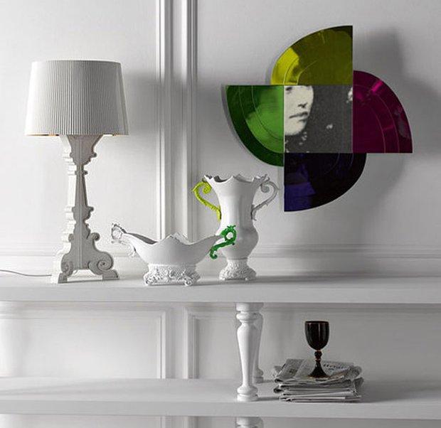 Фотография: Декор в стиле , Современный, Декор интерьера, Мебель и свет, Светильник, Kartell – фото на InMyRoom.ru