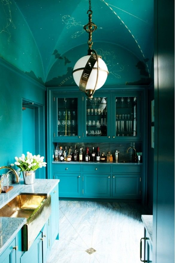 Фотография: Кухня и столовая в стиле Восточный, Декор интерьера, Дизайн интерьера, Цвет в интерьере – фото на INMYROOM