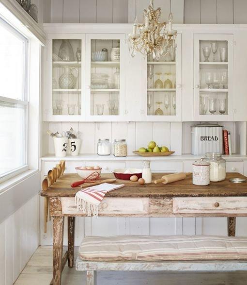 Фотография: Кухня и столовая в стиле Прованс и Кантри, Декор интерьера, Дом, Дом и дача, как оформить маленький дом – фото на INMYROOM