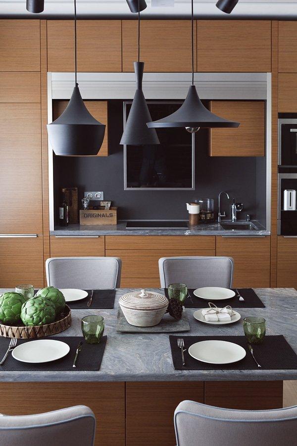 Фотография: Кухня и столовая в стиле Лофт, Современный, Интерьер комнат, HOFF, Советы – фото на INMYROOM