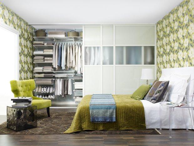 Фотография: Спальня в стиле Современный, Малогабаритная квартира, Советы – фото на INMYROOM