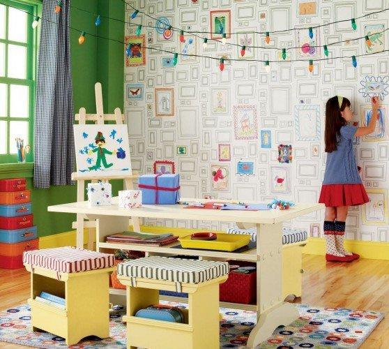 Фотография:  в стиле , Детская, Советы, Роспись, Декоративная штукатурка, идеи для детской, Елена Булагина, Отделка стен, декор стен, интерьер детской, фотообои в интерьере, как оформить детскую, фотообои в детской, натуральные обои в интерьере, настеннный декор, как подобрать обои в интерьер – фото на INMYROOM