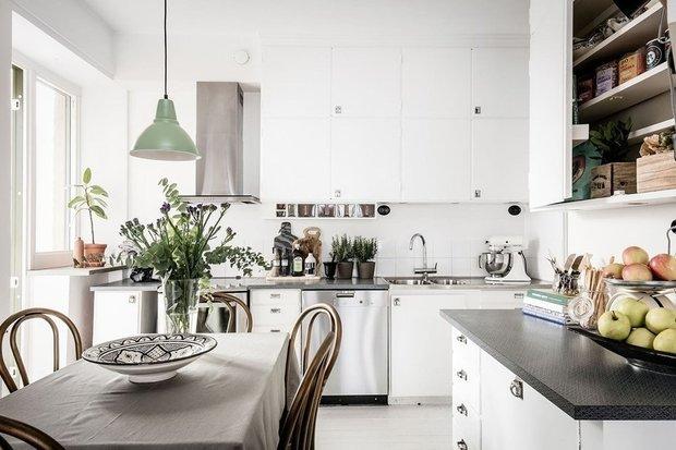 Фотография: Кухня и столовая в стиле Скандинавский, Советы, уборка, лайфхаки – фото на INMYROOM
