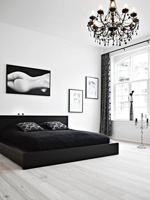 Фотография: Спальня в стиле Современный, Дизайн интерьера, Цвет в интерьере – фото на INMYROOM