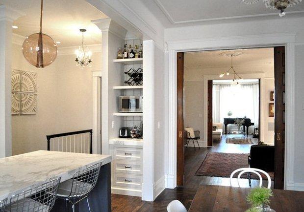 Фотография: Кухня и столовая в стиле Современный, Интерьер комнат, Проект недели – фото на INMYROOM