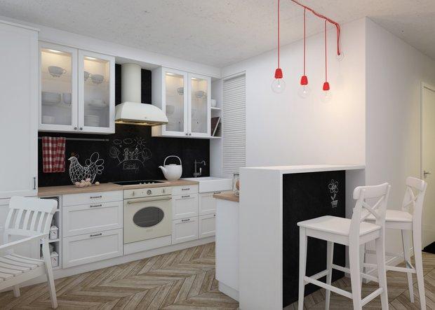 Фотография: Кухня и столовая в стиле Скандинавский, Современный, Квартира, Дома и квартиры, IKEA – фото на INMYROOM