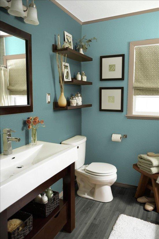 Фотография: Ванная в стиле Прованс и Кантри, Декор интерьера, Дизайн интерьера, Цвет в интерьере – фото на INMYROOM