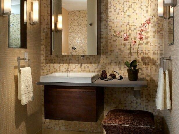 Фотография: Ванная в стиле Восточный, Интерьер комнат – фото на INMYROOM