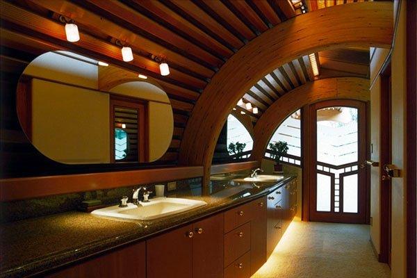 Фотография: Ванная в стиле Современный, Декор интерьера, Дом, Дома и квартиры, Архитектурные объекты, Япония – фото на INMYROOM