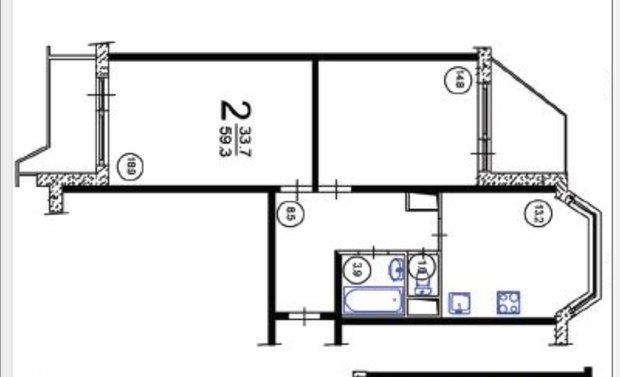 Фотография: Прочее в стиле , Квартира, Дома и квартиры, Перепланировка, П44т – фото на INMYROOM