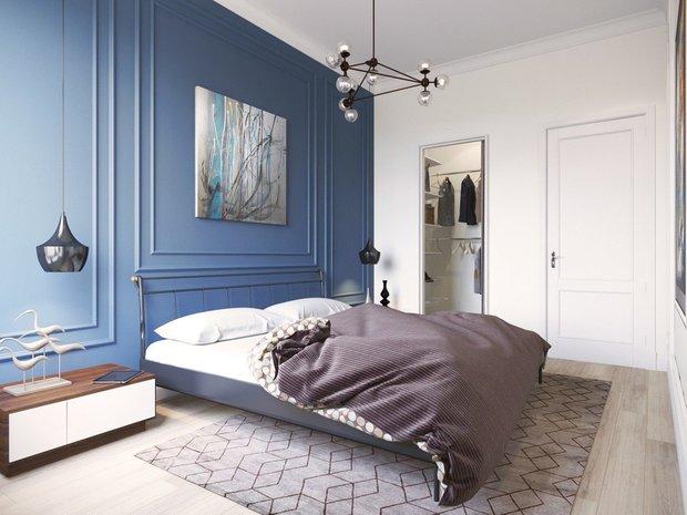 Фотография: Спальня в стиле Минимализм, Декор интерьера, Советы, декор стен, Анна Моджаро – фото на INMYROOM