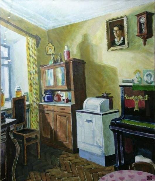 Красавин Алексей Николаевич (Россия, 1956 ) «Дом моего деда»