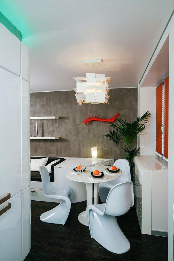 Фотография: Кухня и столовая в стиле Современный, Декор интерьера, Интерьер комнат, Проект недели, Карим Рашид – фото на InMyRoom.ru