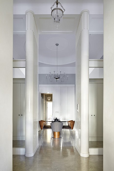 Фотография: Мебель и свет в стиле Эклектика, Квартира, Дома и квартиры, Перепланировка – фото на INMYROOM