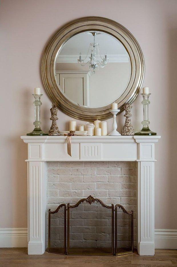 Фотография: Декор в стиле Прованс и Кантри, Декор интерьера, Камин, фальшкамин в интерьере, как сделать декоративный камин – фото на INMYROOM