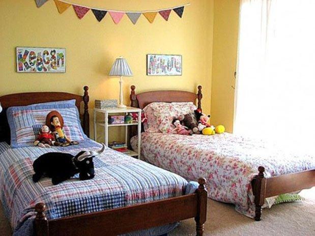 Фотография: Детская в стиле Современный, Спальня, Декор интерьера, Интерьер комнат, Мебель и свет – фото на InMyRoom.ru