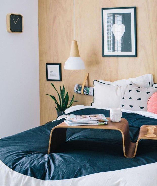 Фотография: Спальня в стиле Лофт, Скандинавский, Интерьер комнат – фото на INMYROOM