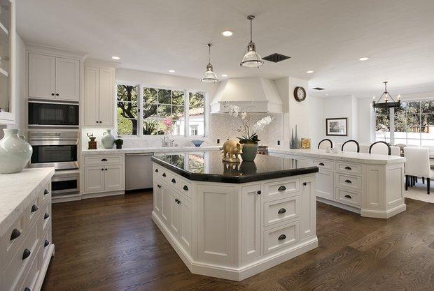 Фотография: Кухня и столовая в стиле Скандинавский, Интерьер комнат, Встраиваемая техника – фото на INMYROOM
