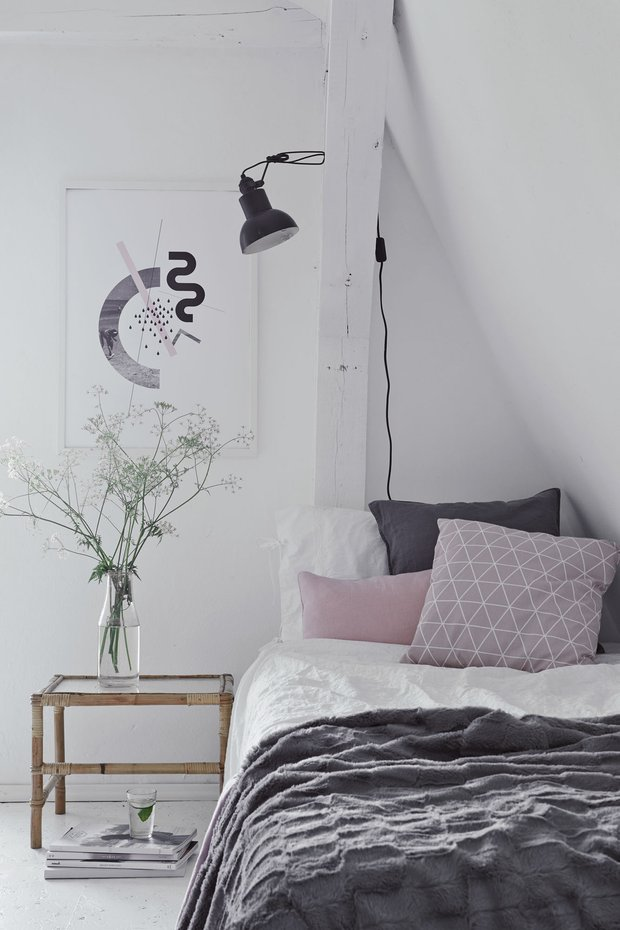 Фотография: Спальня в стиле Скандинавский, Дача, Польша, Дом и дача – фото на INMYROOM
